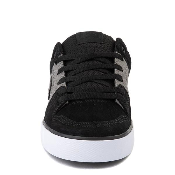 alternate view Mens DC Pure SE Skate Shoe - Gray/GrayALT4