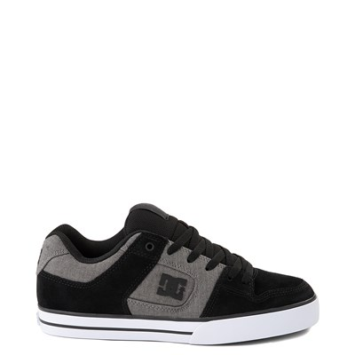Main view of Mens DC Pure SE Skate Shoe - Gray/Gray