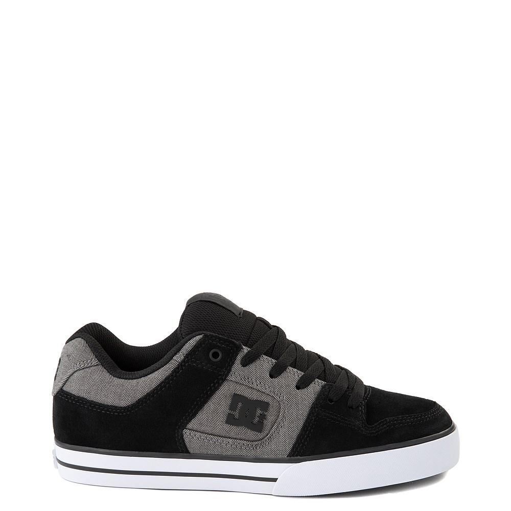 Mens DC Pure SE Skate Shoe - Gray/Gray