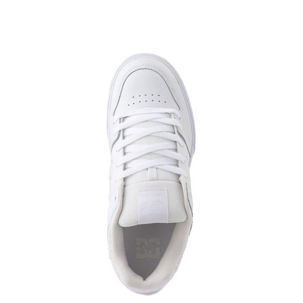 alternate view Mens DC Pure Skate Shoe - White / GumALT4B