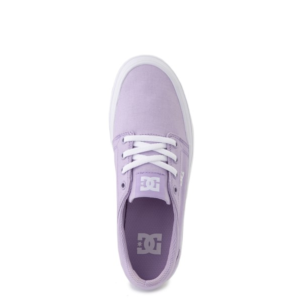 alternate view Womens DC Trase TX Platform Skate Shoe - LilacALT4B