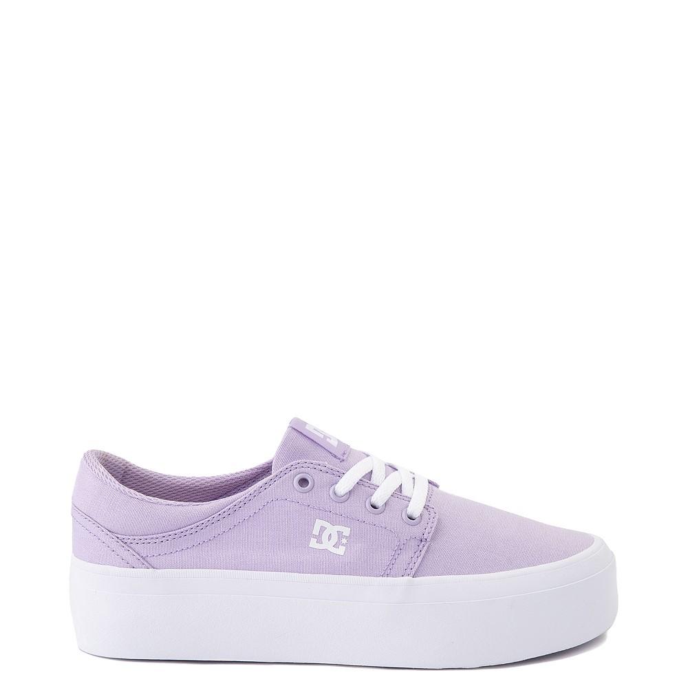 Womens DC Trase TX Platform Skate Shoe - Lilac
