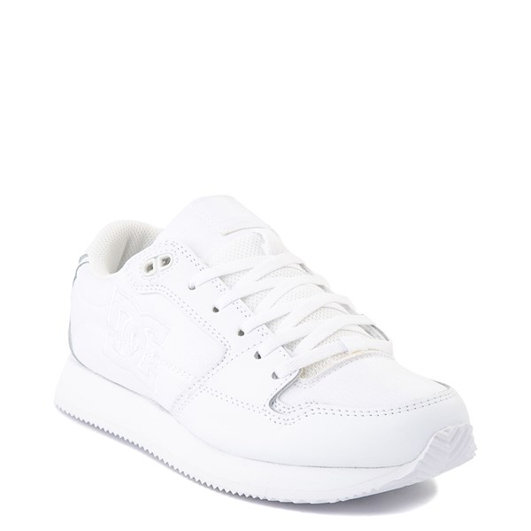 alternate view Womens DC Alias Skate Shoe - White MonochromeALT1