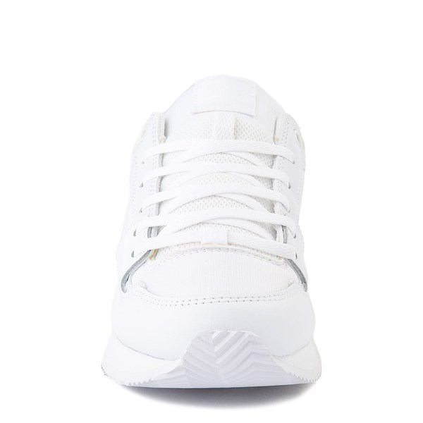 alternate view Womens DC Alias Skate Shoe - White MonochromeALT4