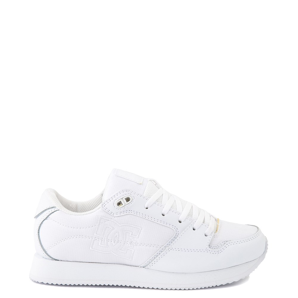 Womens DC Alias Skate Shoe - White Monochrome