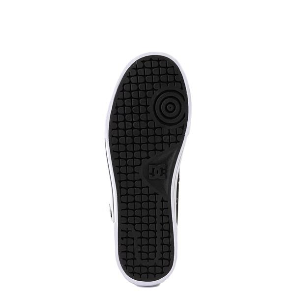 alternate view Womens DC Chelsea SE Skate Shoe - Black / LeopardALT5