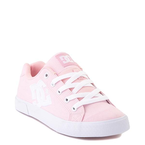 alternate view Womens DC Chelsea TX Skate Shoe - Light PinkALT1