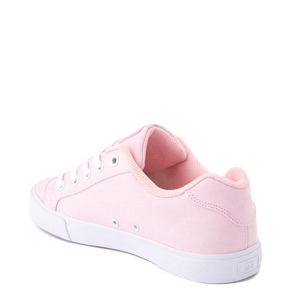 alternate view Womens DC Chelsea TX Skate Shoe - Light PinkALT2