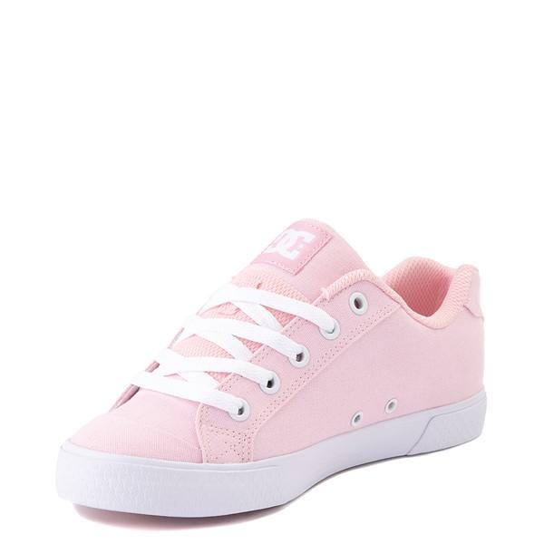 alternate view Womens DC Chelsea TX Skate Shoe - Light PinkALT3