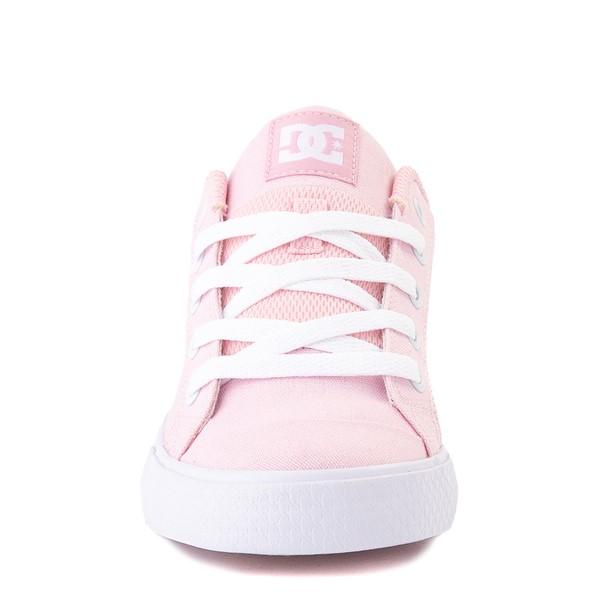 alternate view Womens DC Chelsea TX Skate Shoe - Light PinkALT4