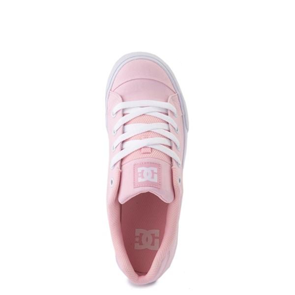 alternate view Womens DC Chelsea TX Skate Shoe - Light PinkALT4B