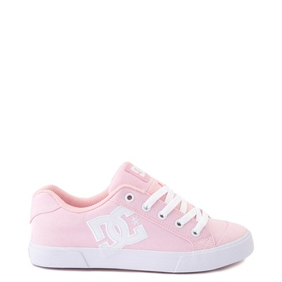 Main view of Womens DC Chelsea TX Skate Shoe - Light Pink