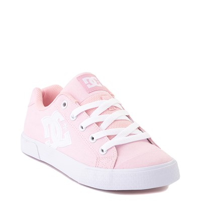 Alternate view of Womens DC Chelsea TX Skate Shoe - Light Pink
