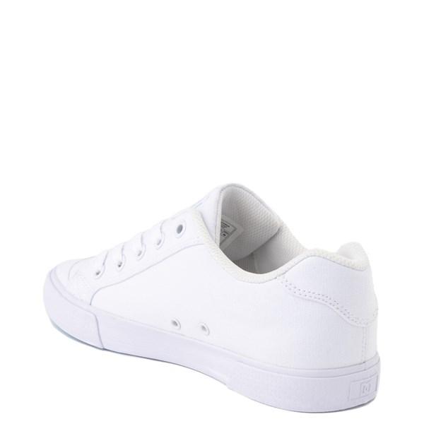 alternate view Womens DC Chelsea TX Skate Shoe - White / Blue JayALT2