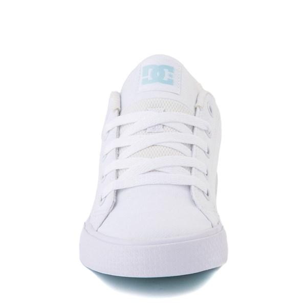 alternate view Womens DC Chelsea TX Skate Shoe - White / Blue JayALT4