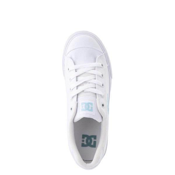 alternate view Womens DC Chelsea TX Skate Shoe - White / Blue JayALT4B