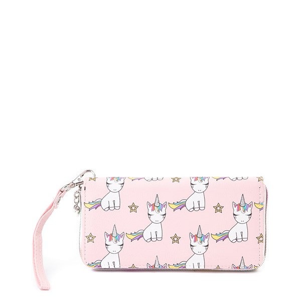 Main view of Lil' Miss Gwen Unicorn Wallet - Pink