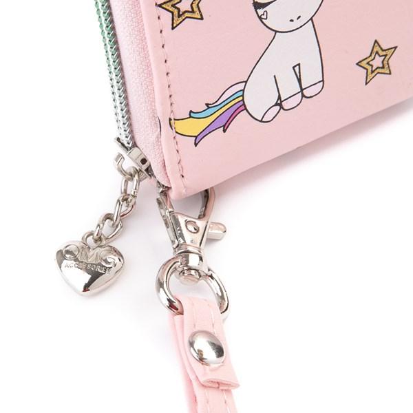 alternate view Lil' Miss Gwen Unicorn Wallet - PinkALT1B