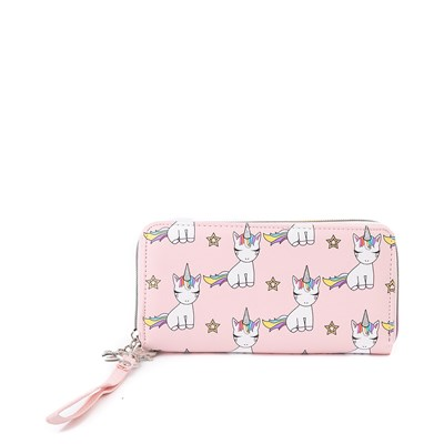 Alternate view of Lil' Miss Gwen Unicorn Wallet - Pink