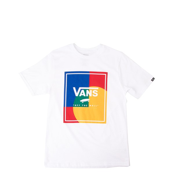 Main view of Vans Kalido Yacht Club Tee - Little Kid / Big Kid - White