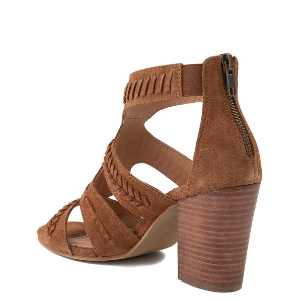 alternate view Womens Crevo Portia Heel - ChestnutALT2