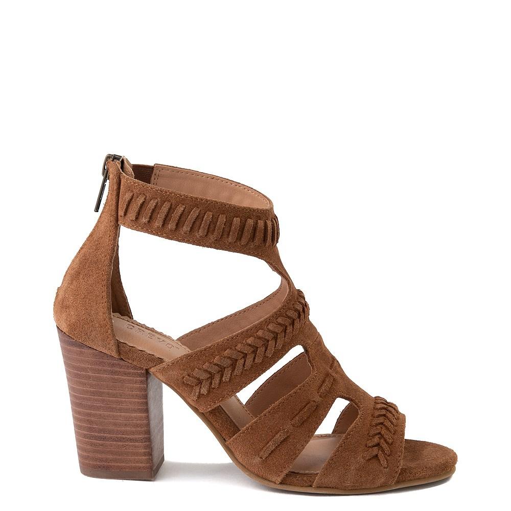 Womens Crevo Portia Heel - Chestnut