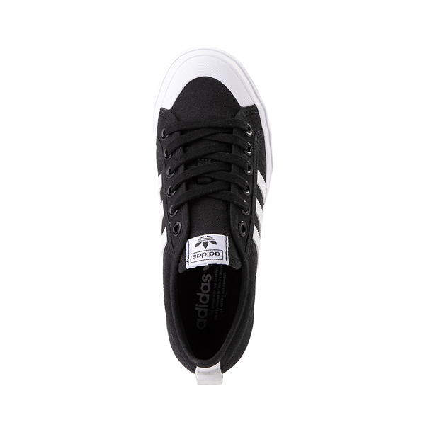alternate view Womens adidas Nizza Platform Athletic Shoe - BlackALT2