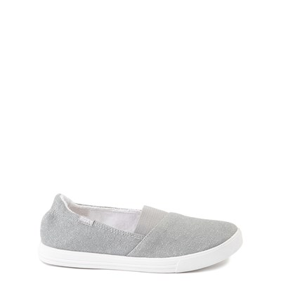 Main view of Roxy Danaris Slip On Casual Shoe - Little Kid / Big Kid - Gray