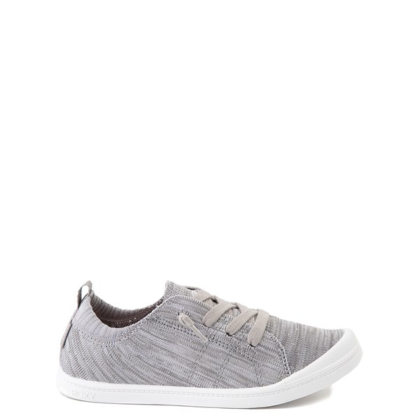 Roxy Bayshore Knit Casual Shoe - Little Kid / Big Kid - Gray