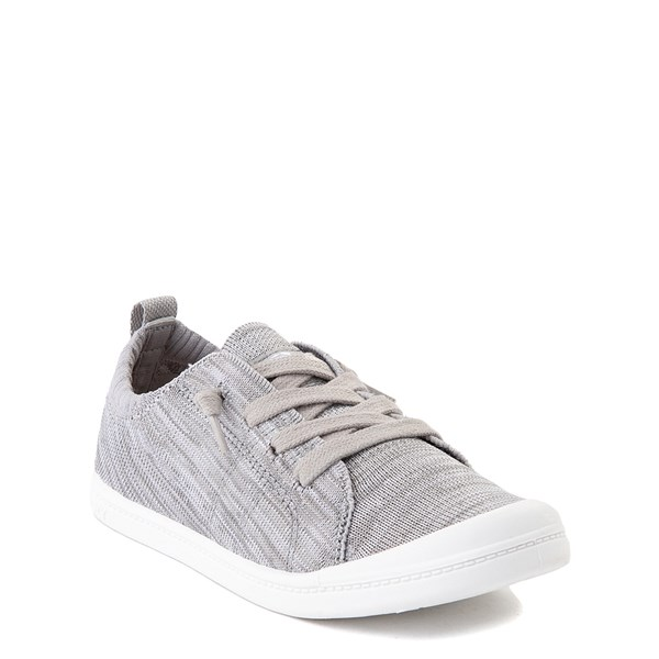 alternate view Roxy Bayshore Knit Casual Shoe - Little Kid / Big Kid - GrayALT1