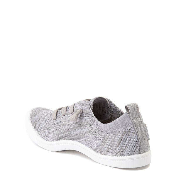 alternate view Roxy Bayshore Knit Casual Shoe - Little Kid / Big Kid - GrayALT2