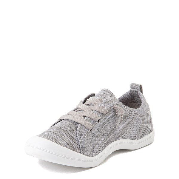 alternate view Roxy Bayshore Knit Casual Shoe - Little Kid / Big Kid - GrayALT3