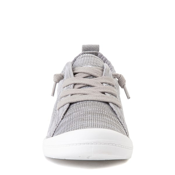alternate view Roxy Bayshore Knit Casual Shoe - Little Kid / Big Kid - GrayALT4