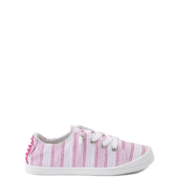 Roxy Bayshore Casual Shoe - Little Kid / Big Kid - White / Pink