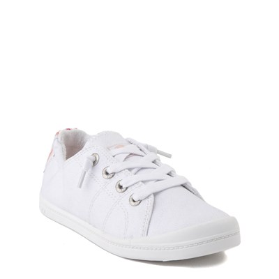 Alternate view of Roxy Bayshore Casual Shoe - Little Kid / Big Kid - White