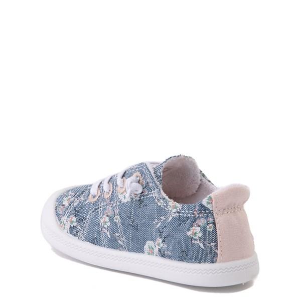 alternate view Roxy Bayshore Casual Shoe - Toddler - Denim / FloralALT2