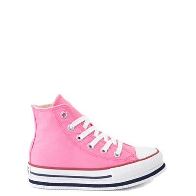 Main view of Converse Chuck Taylor All Star Hi Platform Sneaker - Little Kid / Big Kid - Pink