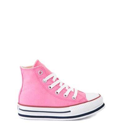Main view of Converse Chuck Taylor All Star Hi Platform Sneaker - Little Kid / Big Kid - Pink