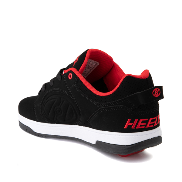 alternate view Mens Heelys Voyager Skate Shoe - Red / BlackALT1