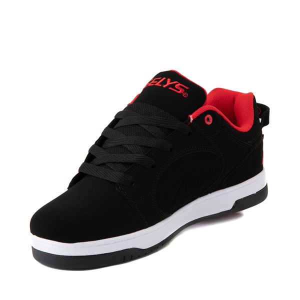 alternate view Mens Heelys Voyager Skate Shoe - Red / BlackALT2