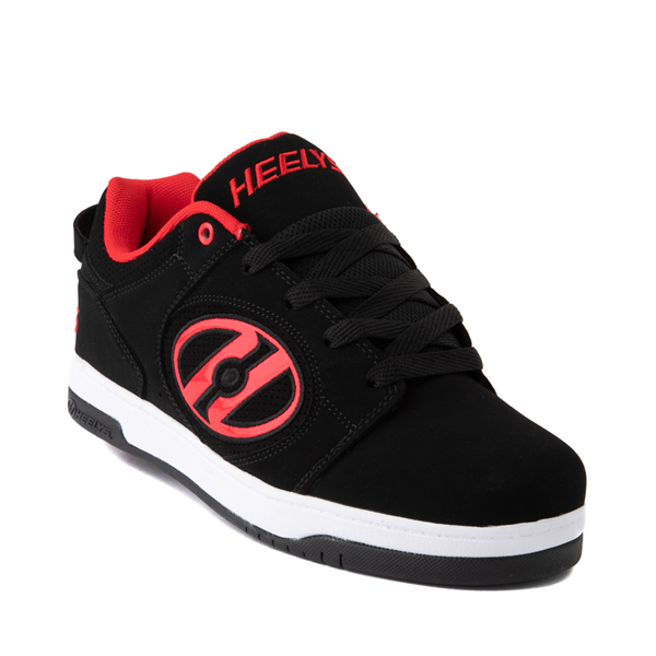 alternate view Mens Heelys Voyager Skate Shoe - Red / BlackALT5