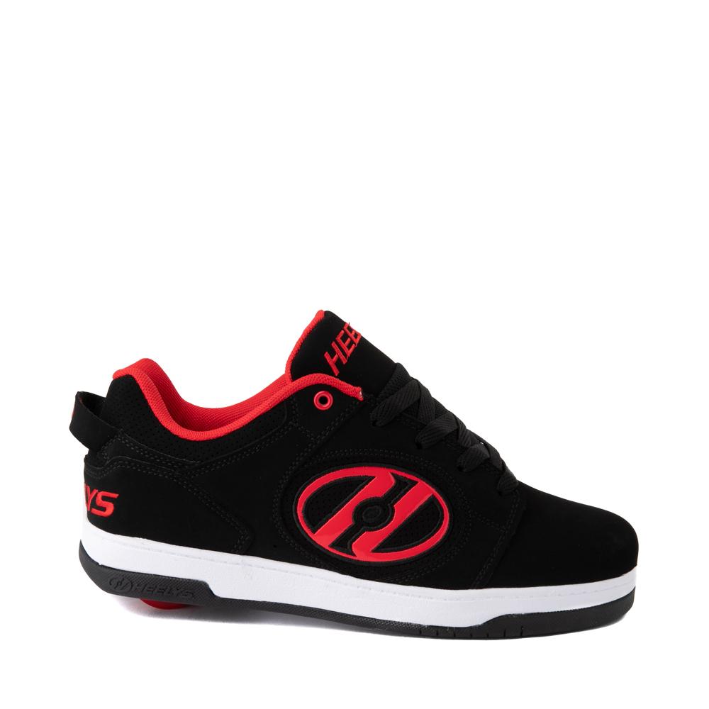 Mens Heelys Voyager Skate Shoe - Red / Black