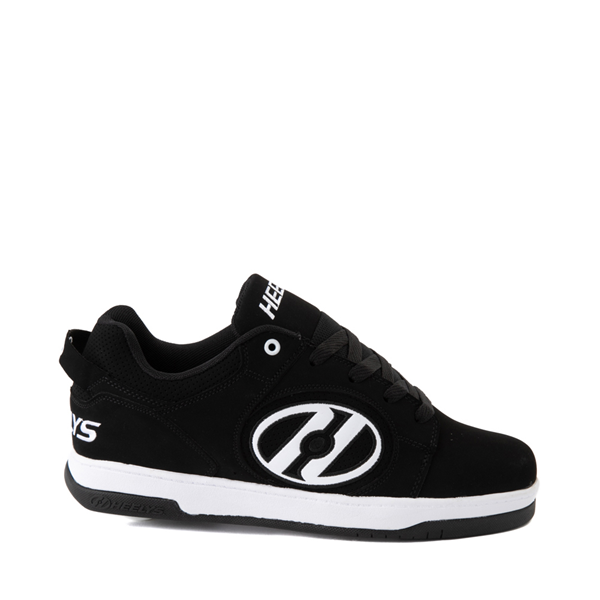 Mens Heelys Voyager Skate Shoe - Black / White