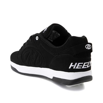 Alternate view of Mens Heelys Voyager Skate Shoe - Black / White