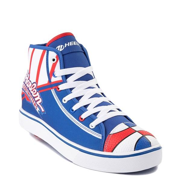alternate view Mens Heelys Hustle Harlem Globetrotters Skate Shoe - Red / White / BlueALT1
