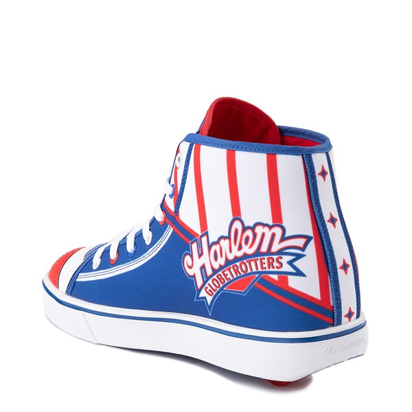 alternate view Mens Heelys Hustle Harlem Globetrotters Skate Shoe - Red / White / BlueALT2