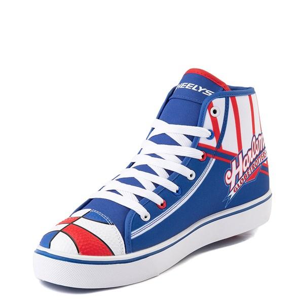 alternate view Mens Heelys Hustle Harlem Globetrotters Skate Shoe - Red / White / BlueALT3