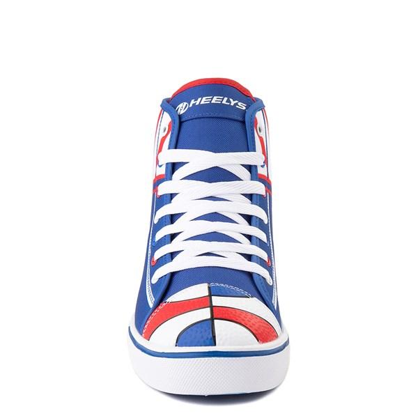 alternate view Mens Heelys Hustle Harlem Globetrotters Skate Shoe - Red / White / BlueALT4