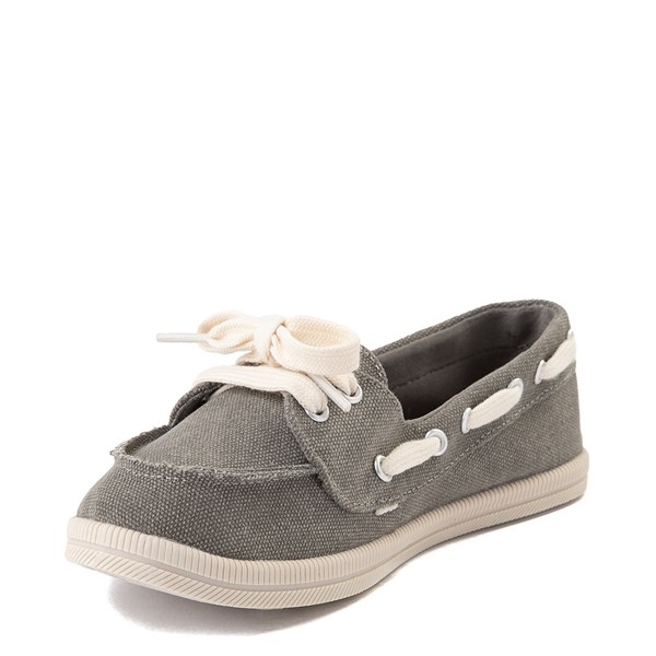 alternate view Womens Rocket Dog Meer Slip On Casual Shoe - GrayALT3