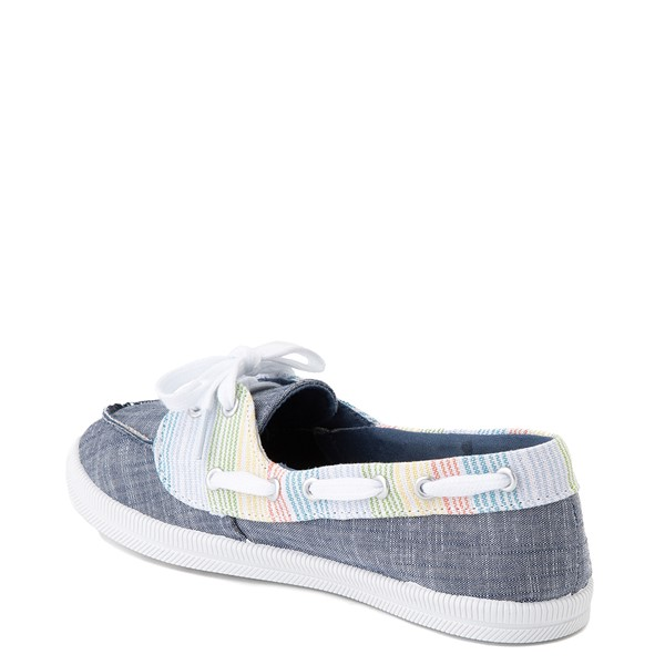 alternate view Womens Rocket Dog Meer Slip On Casual Shoe - Navy / MultiALT1